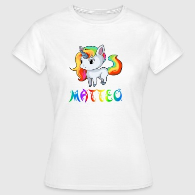 Unicorn Matteo - Women's T-Shirt