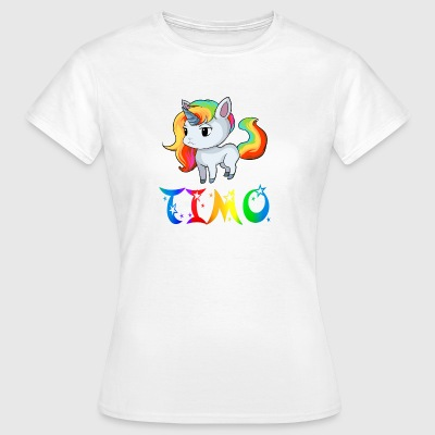 Unicorn Timo - Women's T-Shirt