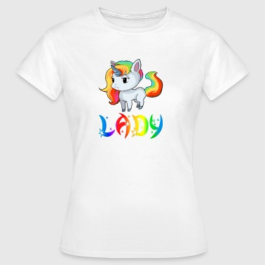 Unicorn Lady - Dame-T-shirt