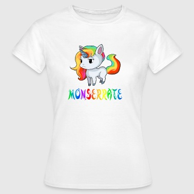 Einhorn Monserrate - Frauen T-Shirt