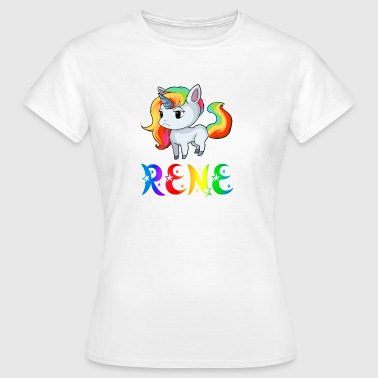 Unicorn Rene - Women's T-Shirt