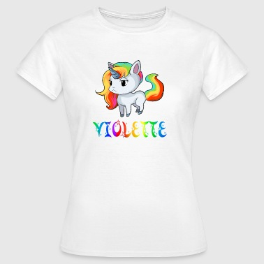Unicorn Violet - Women's T-Shirt