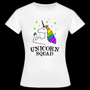Unicorn Squad gym fitness - T-shirt dam