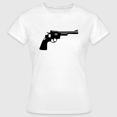 Gun turret gun Gun Weapon - Women's T-Shirt