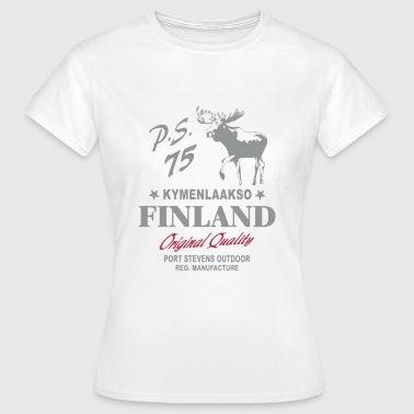 Finland - Land of Moose - Frauen T-Shirt