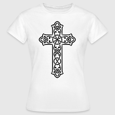 JESUS ​​CHRIST CROSS CELTIC GIFT T-SHIRT - Women's T-Shirt