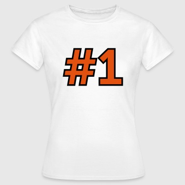 Sport Number 1 One - Women's T-Shirt