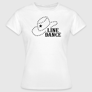LINE DANCE HAT - Women's T-Shirt