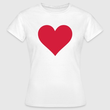 Heart for Love - The Original - Women's T-Shirt