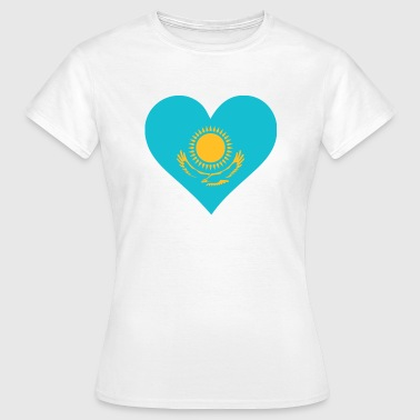 A heart for Kazakhstan - Women's T-Shirt
