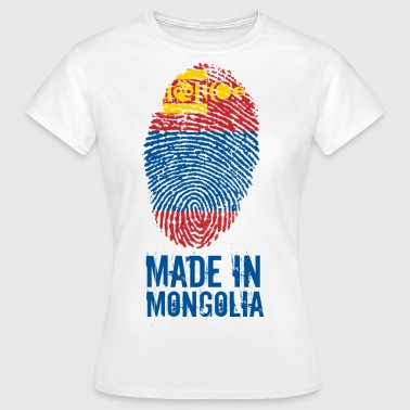 Made In Mongolië / Mongolië / Монгол Улс - Vrouwen T-shirt
