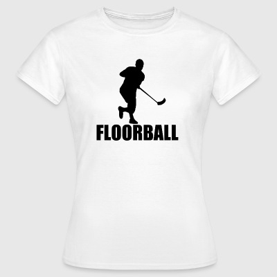 Floorball - Dame-T-shirt