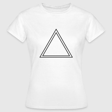 triangles dreieck - Frauen T-Shirt