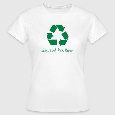 Jump Land Pack Repeat - Women's T-Shirt