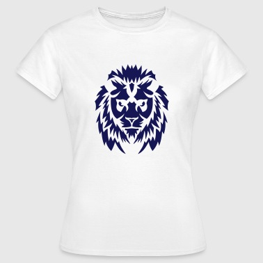 lion animal sauvage tribal 2402 - T-shirt Femme