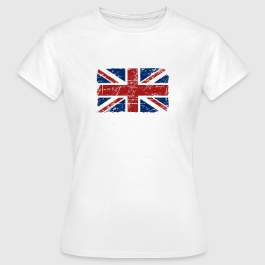 Union Jack - UK - Vintage Look  - T-shirt Femme