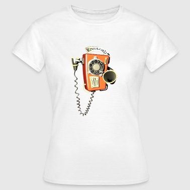 Ringlord phone wall phone - Women's T-Shirt