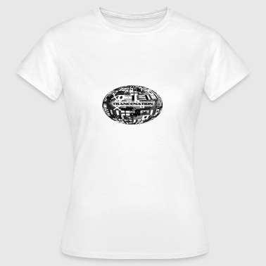 trance nation - Dame-T-shirt