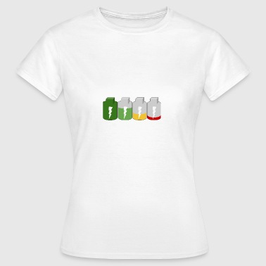 Batterie - Frauen T-Shirt
