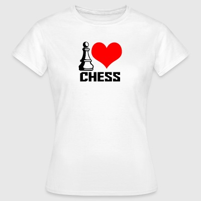 jag Lovechess - T-shirt dam
