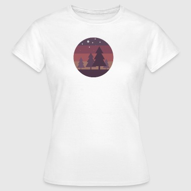 Pine Trees - Frauen T-Shirt