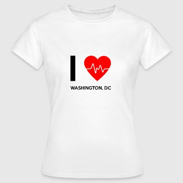 Amo Washington DC - Amo Washington DC - Camiseta mujer