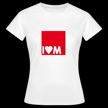 I heart M - Frauen T-Shirt