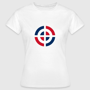 Roundel of the Dominican Republic svg - Women's T-Shirt