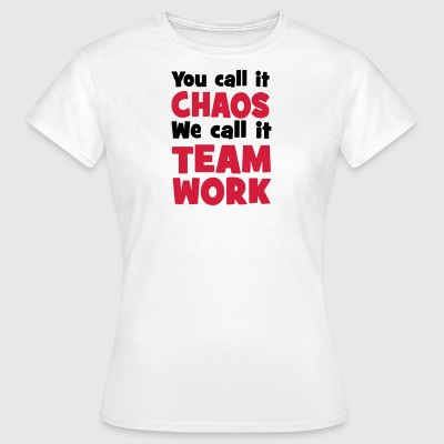 Teamwork - Women's T-Shirt
