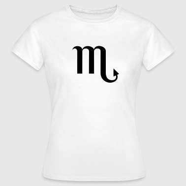 Zodiac Scorpio Design – The Sign of Scorpio - Vrouwen T-shirt