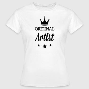 Original three star deluxe artists - Women's T-Shirt