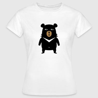 BOBBY L'OURS T-SHIRT - T-shirt Femme