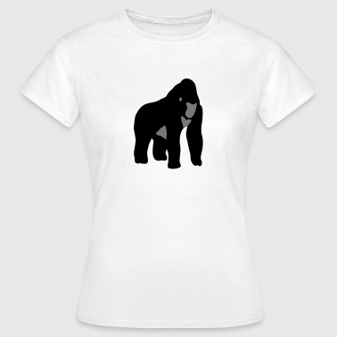 Gorilla Monkey Ape - Women's T-Shirt