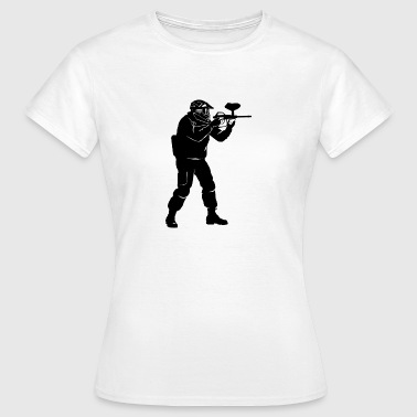 paintball - Dame-T-shirt