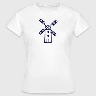 Wind Mill - Wind Energy - Women's T-Shirt