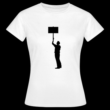 Demonstrant - Frauen T-Shirt