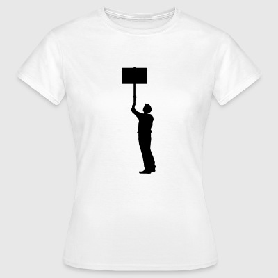 demonstrant - Dame-T-shirt