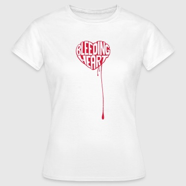 Bleeding Heart - Women's T-Shirt