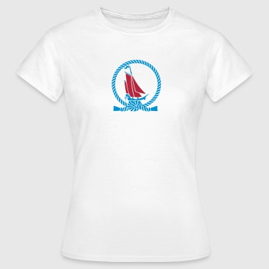 Seekrank / seasick (f, 2c) - Women's T-Shirt
