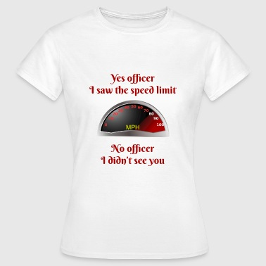 Speeding - Women's T-Shirt