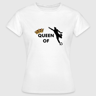 Crown / Queen of ... (add your own text) - Women's T-Shirt