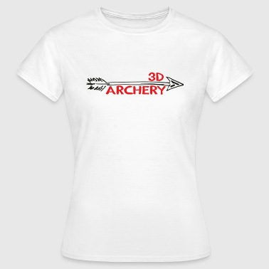 3D Archery Bogenschiessen Bogensport - Frauen T-Shirt