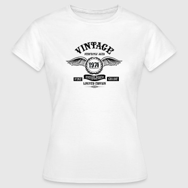 Vintage Perfectly Aged 1974 - Women's T-Shirt