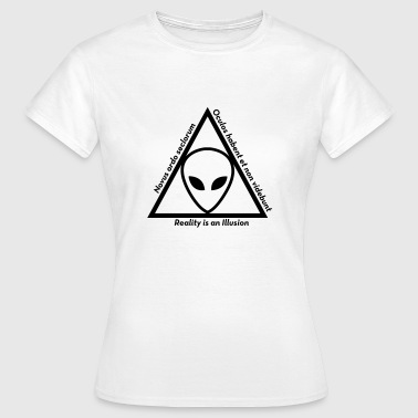 UFO - Alien - Illuminati - Conspiracy Theory Ovni - Women's T-Shirt