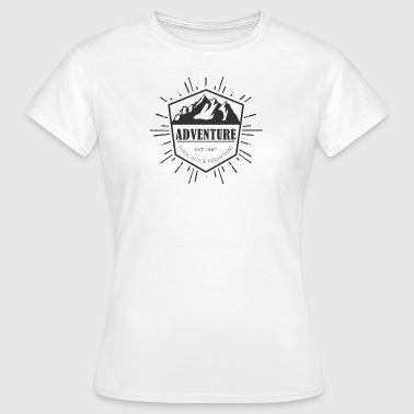 Adventure is made in the mountains - Women's T-Shirt