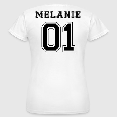 Melanie 01 - Black Edition - Women's T-Shirt