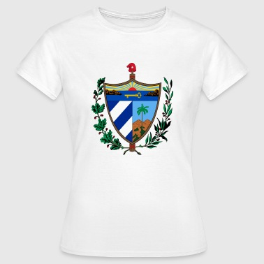 Armoiries nationales de Cuba - T-shirt Femme