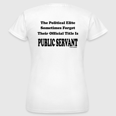 Political Elite - Women's T-Shirt