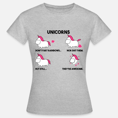 unicorns - Women's T-Shirt