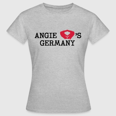 Angie loves Germany - Frauen T-Shirt